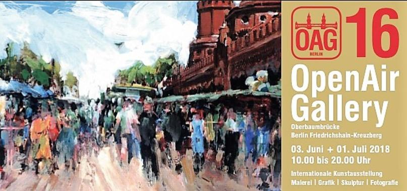 Irish artist Orfhlaith Egan exhibits at the Berlin Open Air Gallery 2018, Sunday 3rd June 10am-7pm.