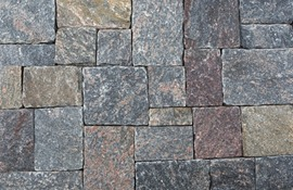 Vineyard Granite Boston Blend Square & Rectangle Thin Veneer By Stoneyard