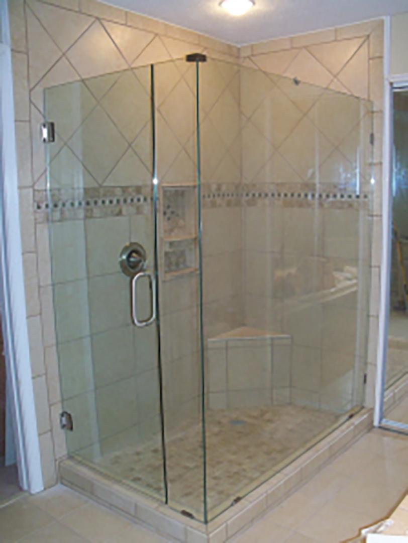 Frame-Less Shower Doors - Shower Doors by TJ