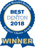 Best of Denton 2018 Winner