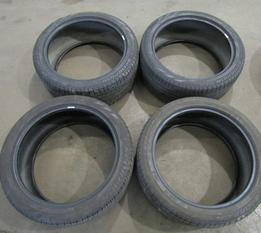 SET OF FOUR USED tires