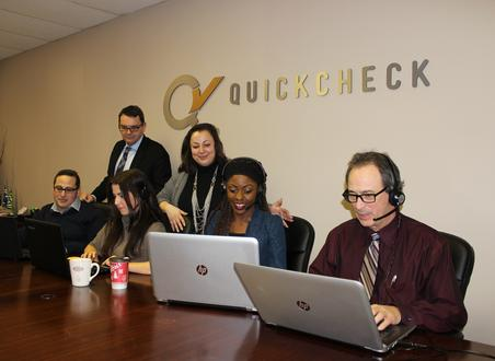 QC500 staff at work