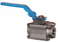 VAN BI - SUN VALVE - HÀN QUỐC - 3-PC FORGED STEEL FLOATING BALL VALVE - VAN BI NỔI