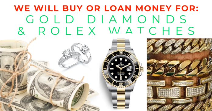 We Buy Rolex - Antwerp Diamonds and Jewelry of Roswell Georgia