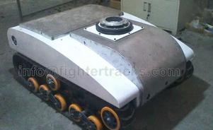 tank robot in model DL-S-85 a type of robot platform for patrol and inspection