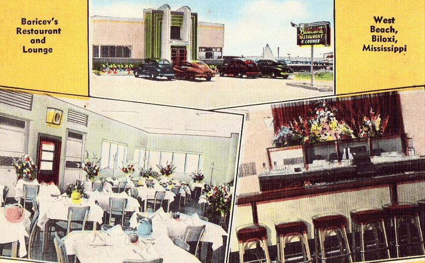 Baricev's Restaurant and Lounge in Biloxi, Mississippi