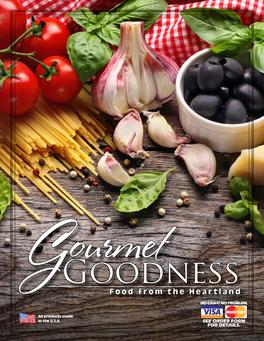 Gourmet Goodness Fundraiser Brochure