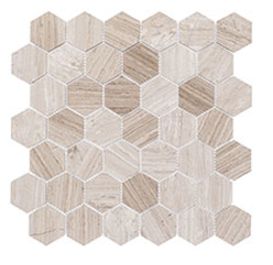 Glazzio Tiles Colonial Long Hex Series