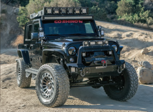 Lights, Roll Bars, Railings and more for your jeep.
