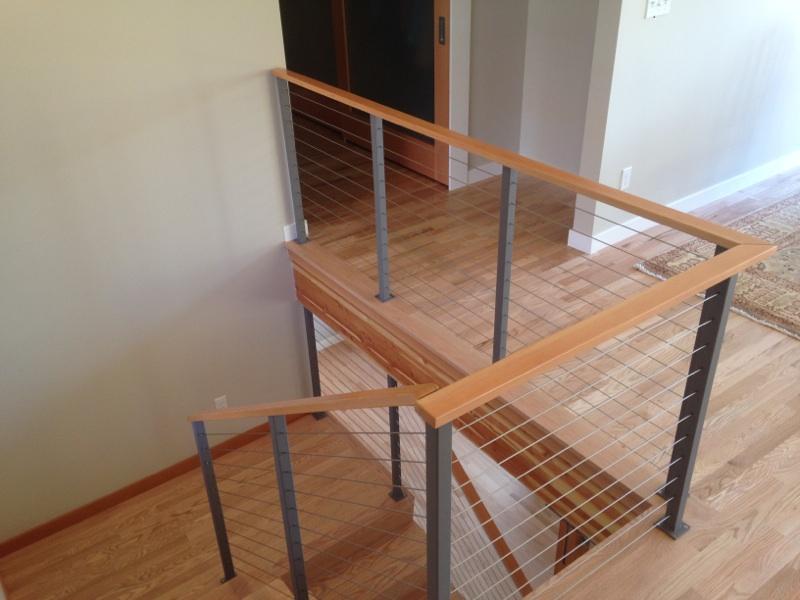 apex railing solutions interior cable railing photos