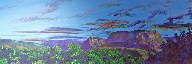 Natural Accents Gallery of Taos - Exhibiting the works of Acrylics Artist Andy Young