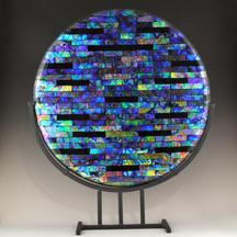 Sample dichroic display