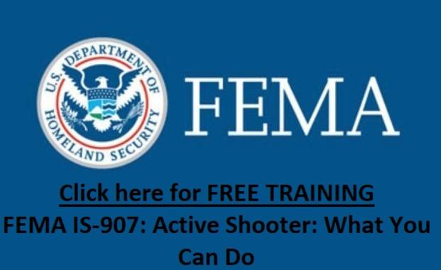 FEMA IS-907: Active Shooter: What You Can Do