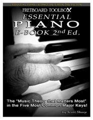 Essential Piano Interactive E-Book Fretboard Toolbox