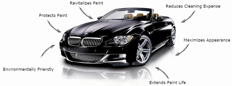 A graphic showing the benefits of auto ceramic coatings for vehicles in Denver, CO