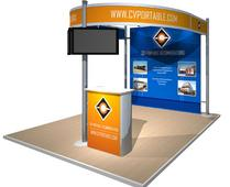 custom exhibit rentals hahn rentals