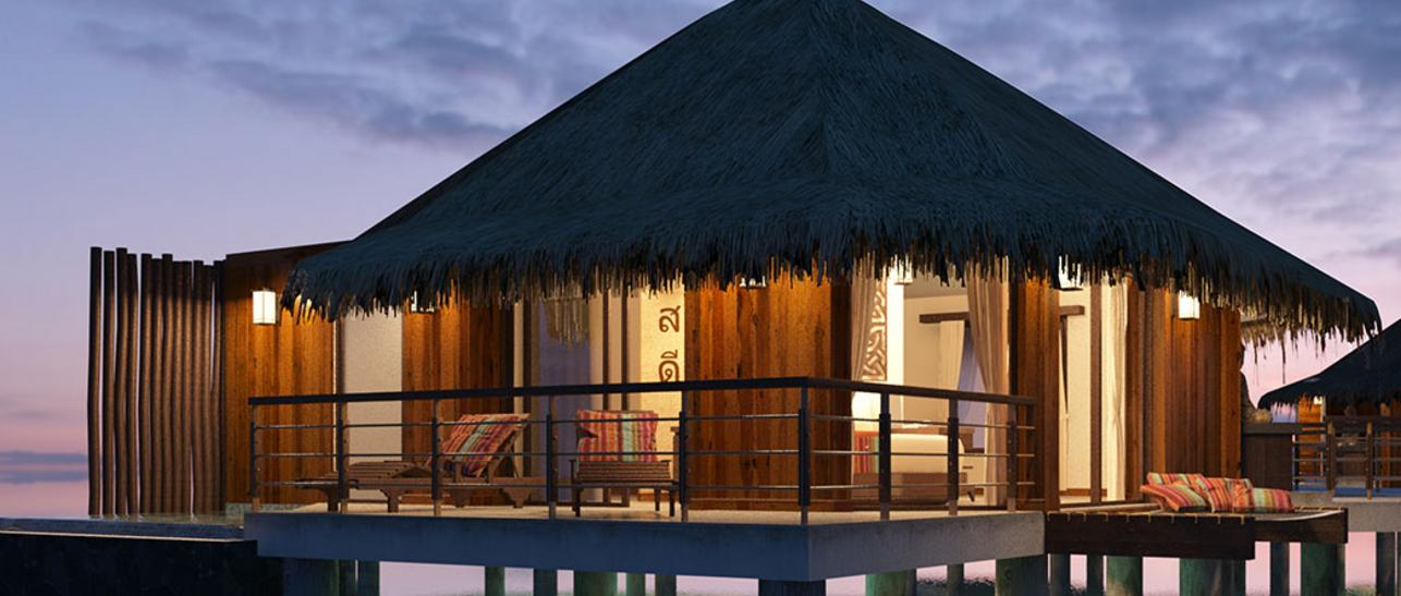 All Inclusive Overwater Bungalows Tahiti Style Overwater