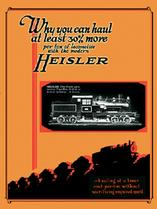 Heisler Geared Locomotives Catalog