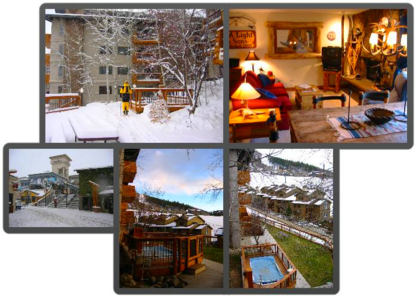 Vacation Rentals and winter cottages in Steamboat Springs, Colorado.