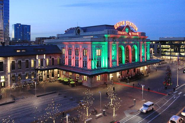 For decades, Union Station has been lit for the holidays and this tradition continues after its extensive renovations.