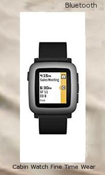 Pebble Time Smartwatch - Black 501-00020,bluetooth watches