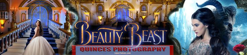 BEAUTY AND THE BEAST QUINCES PHOTOGRAPHY VIDEO DRESSES LA BELLA Y LA BESTIA 15 ANOS TEMA THEMED QUINCES QUINCE 15 ANOS PARTY MIAMI LOPEZ FALCON PHOTO STUDIO