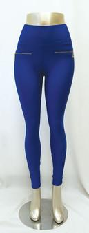 SCP1000 Polyester Spandex Scuba Pants with Side Zipper