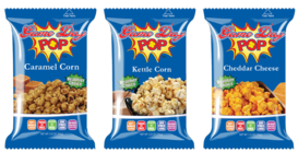 Popcorn fundraiser $2.00 bags carry box direct sale