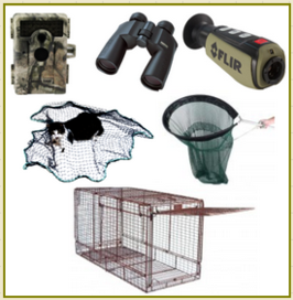 On Site Lost Pet Search Service Equipment image