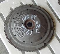 581850, 582441, 582628 Used flywheel for a 1982 Johnson Evinrude 140 hp outboard motor OEM # 581850, 582441, 582628
