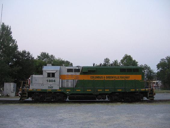Columbus & Greenville Railway EMD GP11 1804.