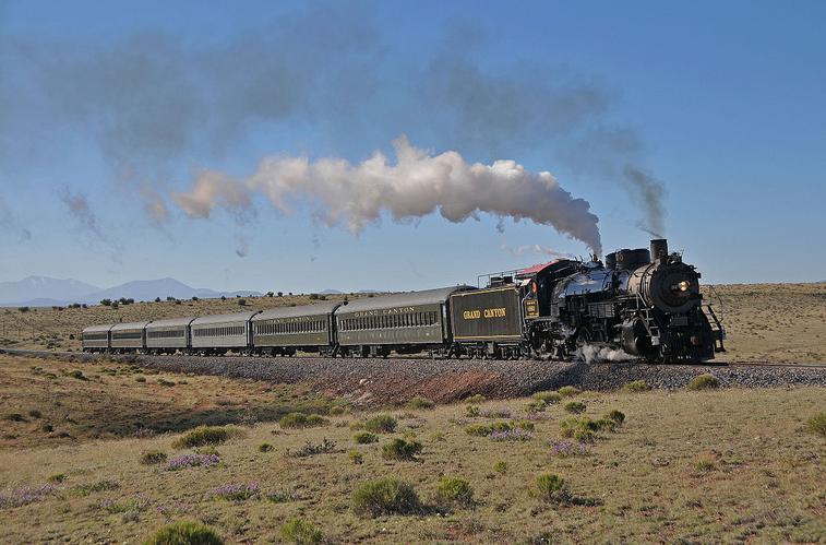 Grand Canyon Railway >> The Grand Canyon Railway