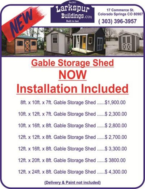 Gable Storage shed, Gable Shed, sheds