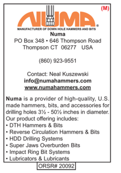 DTH Hammers, Numa Hammers