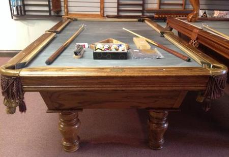 PreOwned Pool Tables - Circular pool table