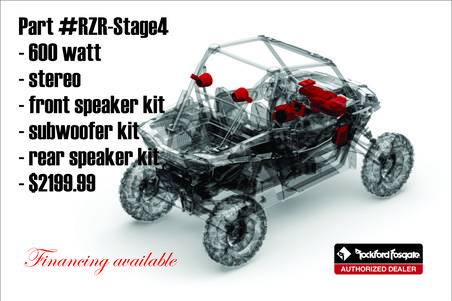 polaris rzr audio canton ohio autosport plus