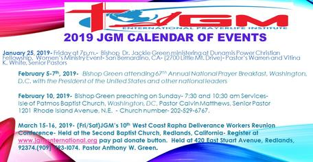 JGM Events