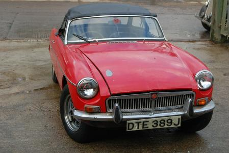 1971 MG MGB CHROME BUMPER ROADSTER