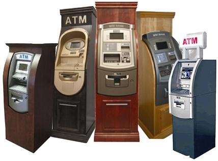 ATM Machine cabinets