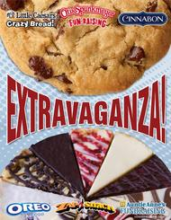 Extravaganza Fundraising Brochure with Cheese and Sausage