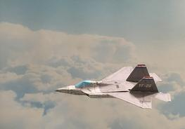 Flyable 3d Paper Aircraft Template Design Of 5th Generation Fighter
