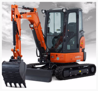 Construction equipment rentals in Vista, North County San Diego
