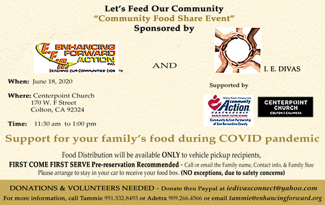 Enchancing Forwrard Action Let's Feed Our Community