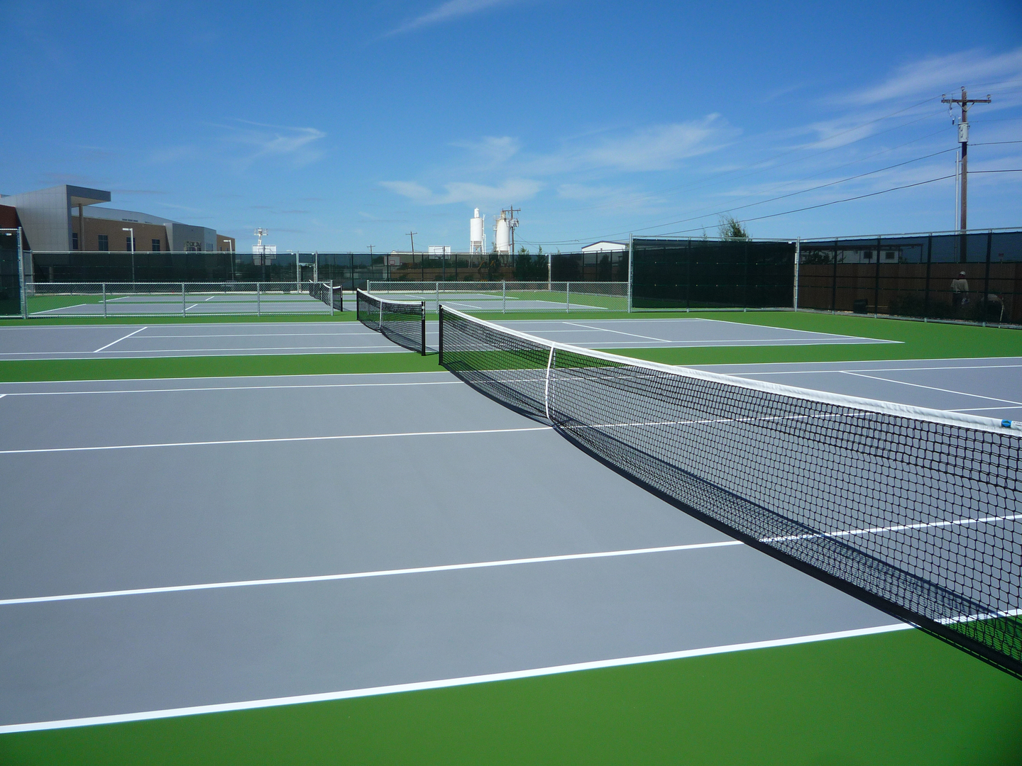 Tennis court construction - The Tennis Court Company - Dallas, Texas