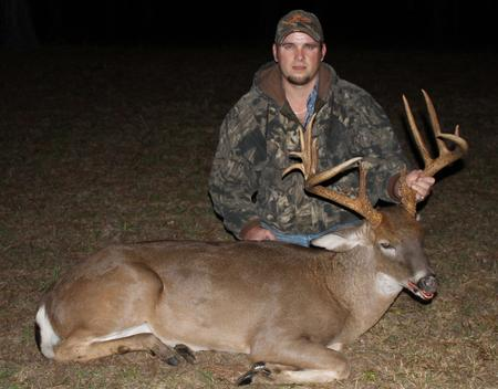 Alabama Guided Trophy Whitetail Deer Hunt