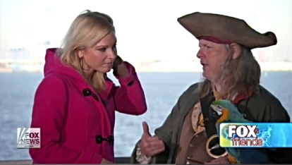 Charleston Pirate Tours on Fox and Friends