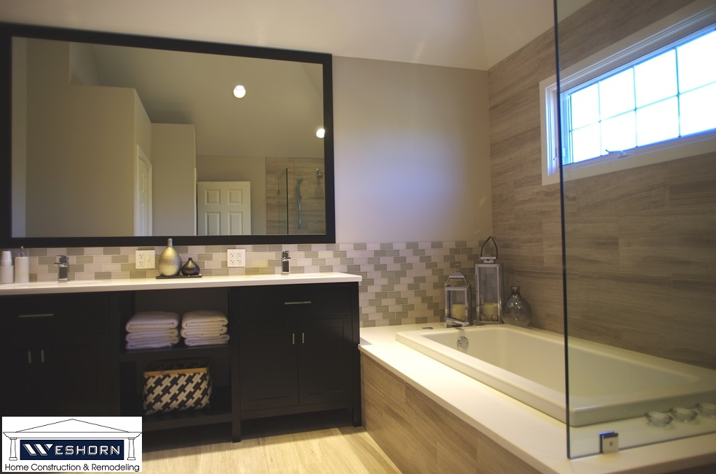 Bathroom Remodel Showers Renovation Weshorn Remodeling - How to renovate a bathroom step by step