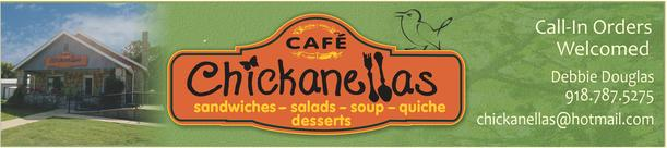 chickanellas restaurant Grove Grand Lake OK