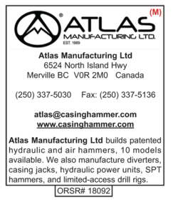 Casing Hammer, Atlas Mfg