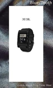 Pebble Smartwatch for iPhone and Android (Black),bluetooth watches